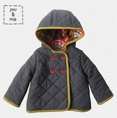Tutorial: Quilted hooded jacket for a young child · Sewing | CraftGossip.com