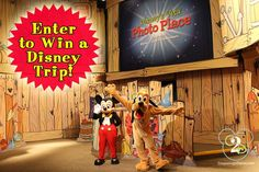 Enter to win a Disney trip. Round up of 13 vacation sweepstakes.