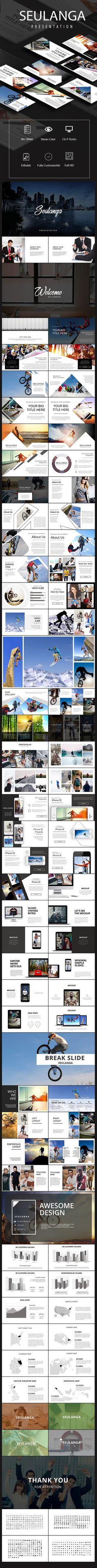 Seulanga Presentation templates (PowerPoint Templates)