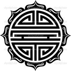korean good luck symbol - Google Search