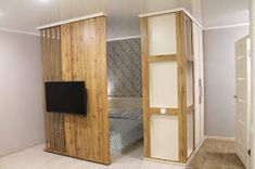 تجديد شقة صغيرة قبل و بعد apartment transformation Divider, Entryway, Diy, Room, Furniture, Design, Home Decor, Entrance, Bedroom