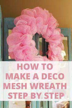 Deco Mesh Garland, Mesh Ribbon Wreaths, Fall Mesh Wreaths, Fall Deco Mesh, Deco Mesh Ribbon, Christmas Mesh Wreaths, Deco Mesh Wreaths, Deco Mesh Wreath Supplies, Deco Mesh Crafts