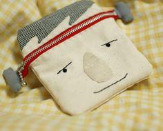 mairuru: Frankenstein zipper pouch
