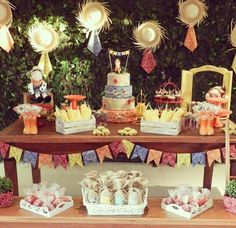 #festajunina #mesaarrumada #decoração