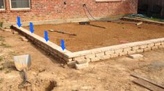 how to build a paver patio on a slope | Paver Patio Slope-wall-fix-2.jpg