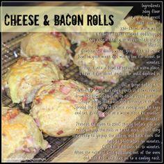 Cheese & Bacon Lunchbox Rolls #lunchboxideas