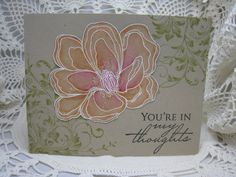 hero arts stamp, card by bettijo Hero Arts Cards, Distress Markers, Jennifer Mcguire, Flower Cards, Card Stock, Floral Design, Layers, Birthdays, Greeting Cards