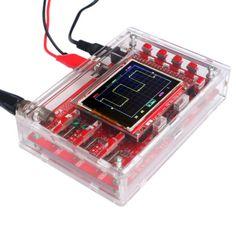 DSO138-2-4-TFT-Digital-Oscilloscope-Kit-DIY-Parts-Acrylic-DIY-Case-Cover-S9N2