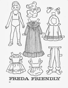 madame alexander coloring pages | 67 Best Paper dolls images in 2019 | Paper dolls, Dolls ...