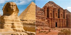 Are you looking for a tour visiting places like #EgyptAndJordan? We offer custom combination tours and travel packages covering #Cairo, #Sharm_El_Sheikh, #Petra_ &_Amman.
