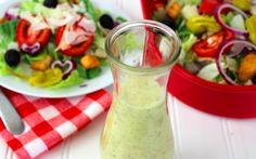 Perfect dressing so you can enjoy Olive Garden at home. One of my favorite dressings. Olive Garden Dressing, Olive Garden Salad, Copycat Recipes, Sauce Recipes, Olive Gardens, Salad Dressing Recipes, Fabulous Foods, Seafood Dishes, Soup And Salad