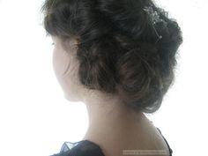 Downton Abbey hair tutorial 1
