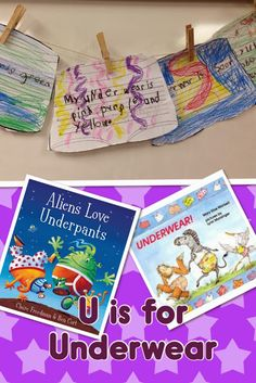 Sharing Kindergarten:U is for Underwear