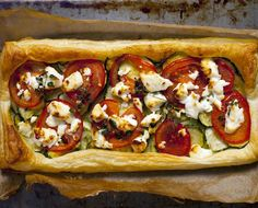 This tart has tomatoes added, but you get the idea.