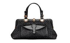 Bottega Veneta cuir noir sacs stars de l'automne hiver 2013 2014