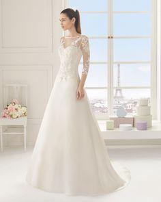 ESFINGE vestido de novia Rosa Clará Two