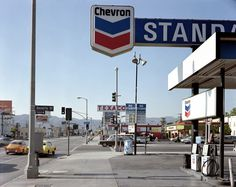 Stephen Shore. Beverly Blvd and La Brea Ave. Los Angeles, CA, 1975. Photograph. His 1982 book, Uncommon Places, was a bible for the new color photographers because, alongside William Eggleston, his work proved that a color photograph, like a painting or even a black and white photograph, could be considered a work of art.
