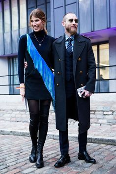 Justin O'Shea and Veronika Heilbrunner