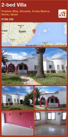 2-bed Villa in Poblets (Els), Alicante, Costa Blanca Norte, Spain ►€158,100 #PropertyForSaleInSpain