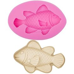 Large Marine Fish (Series 2) Silicone Mold