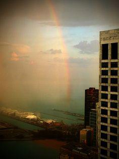 St. Patrick's Day - Rainbow - Pot of Gold - Chicago Navy Pier by doug.siefken, via Flickr