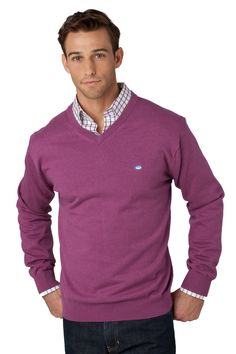 Southern Tide   Heathered V-Neck Sweater