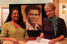 Learn how to make Art Quilts with Nancy Zieman and Tammie Bowser on the PBS Television, show Sewing With Nancy.