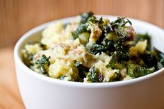 """What is """"Colcannon,"""" you ask? An Irish and Scottish dish of cabbage and potatoes! #vegan #earthbalance"""
