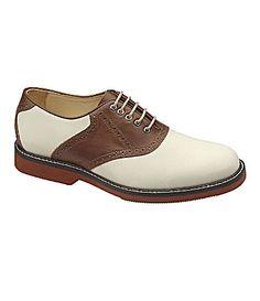 29ee68b8c34 Mens  Johnston  amp  Murphy oxfords in brown.  99.99 on sale. Saddle Oxfords