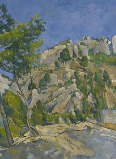 Paul Cézanne, Bottom of the Ravine - from Google Art Project on ArtStack #paul-cezanne #art