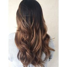 50 Chocolate Brown Hair Color Ideas for Brunettes ❤ liked on Polyvore featuring hair
