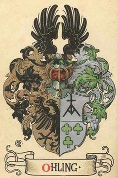 Wappen der Familie Ohling