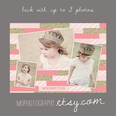 NEW Pinkalicious & Gold INVITE Modern Style for by MOphotography