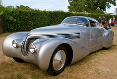 Saoutchik Hispano-Suiza H6C Dubonnet Xenia Streamliner, commissioned 1937