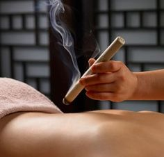 Moxibustion Therapy by Rev Mariah Windsong Couture