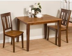 Small Dining Tables Sets Minimalist Design Ideas : Modern Small Dining Tables Sets  Unit With Flowers