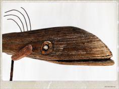 poisson bois flotté, driftwood fish