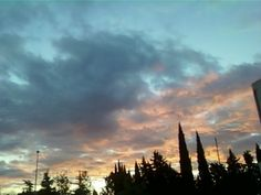 tramonto a Grosseto, Toscana, Italia