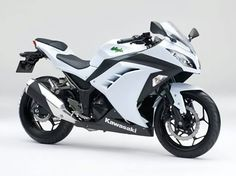 Before Modification Kawasaki 250Fi