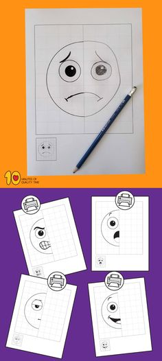 Emotions – 5 Symmetry Worksheets