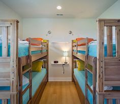 The younger members of your group will love the bunk room in Casa Caribe It is equipped with reading lights outlets both high and low for charging iPods phones and gaming consoles. Reading Lights, Coastal Bedrooms, Ipods, Outlets, Bunk Beds, Consoles, Phones, Gaming, Group