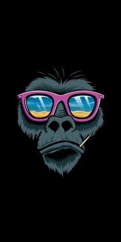 Illustrations by design monkey , via behance pop art wallpaper, hipster wallpaper, iphone wallpaper Art Pop, Pop Art Design, Monkey Art, Creation Art, Jasper Johns, Bild Tattoos, Poster S, Grafik Design, Photomontage