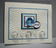 LIKE CHIP BOARD! Layer five or more pieces of cardstock together for a chip board like feel to your embellishments...see more http://butternutsagedesigns.blogspot.com/2014/01/like-chip-board.html