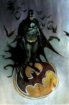 Batman by ANDREW ROBINSON