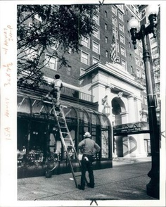 Getting the Amway Grand ready for the grand opening - 1981