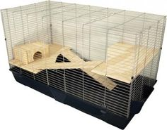 Nagerheim Lanka: Ein extragroßer Käfig für Meerschweinchen, Zwergkaninchen und Co.