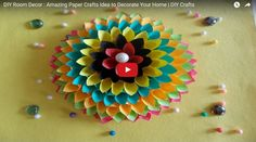 Amazing Paper Crafts Idea to Decorate Your Home   DIY Crafts