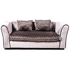 Keet Westerhill Dog Sofa Bed, Charcoal, Large