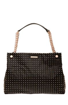 Studded Chain Strap Tote - Handbags - Accessories - Armani Exchange