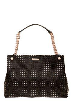 Studded Chain Strap Tote - Handbags - Accessories - Armani Exchange